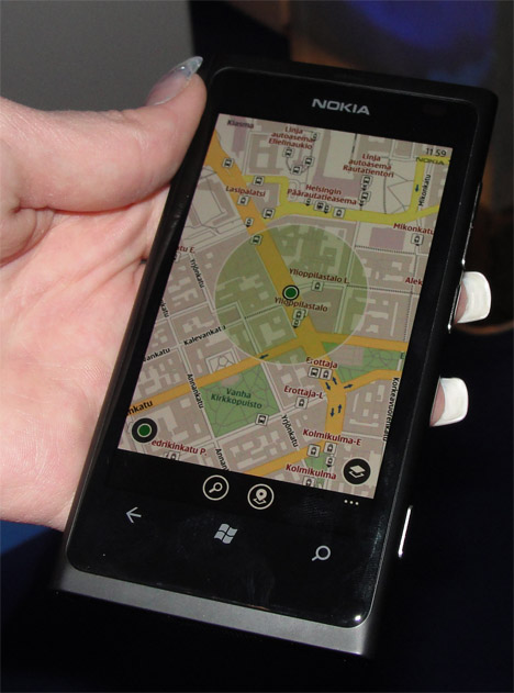 Nokia Maps was already available for download for Lumia 800. According to Nokia, it will become available for other vendors' Windows Phone smartphones too.