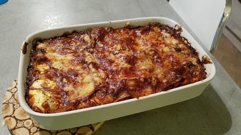 Ensimmäinen oma lasagne
