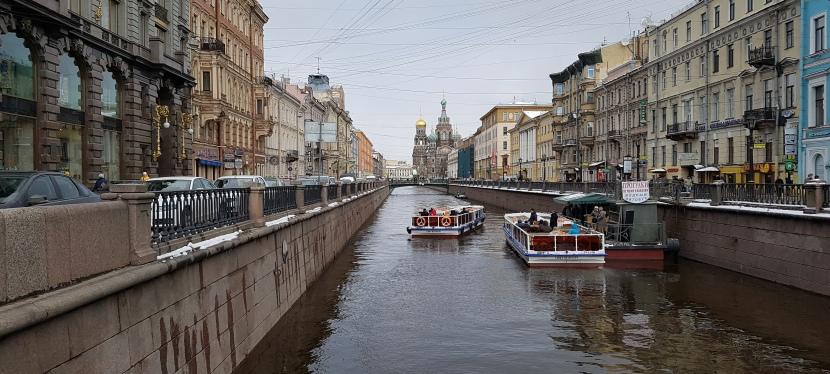 Ruokaelämyksiä Pietarissa