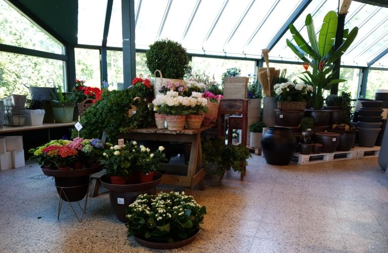 Kukkatalo Marittan myymälä